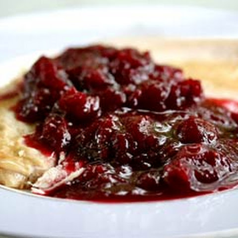 Spicy Cranberry Sauce with Pinot Noir