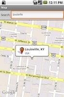 Screenshot of Louisville 311 & MSD