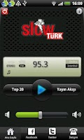 Screenshot of SlowTürk Radyo
