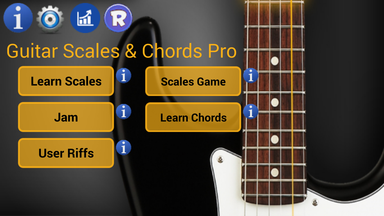 Guitar Scales & Chords Pro Screenshot 0