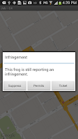 Screenshot of Frogparking Enforcement