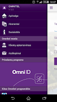 Screenshot of Omnitel Savitarna
