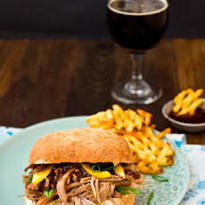 Tangerine Pulled Pork with Thai Plum Barbecue Sauce