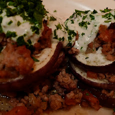 Iman Bayaldi (Greek Eggplant Layers)