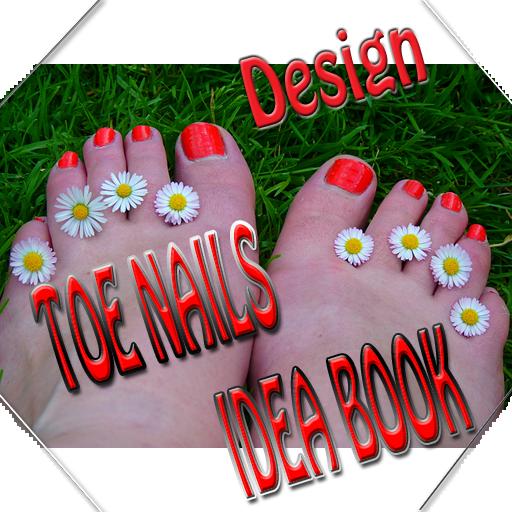 生活必備App|Toe Nail Designs Idea Book LOGO-綠色工廠好玩App
