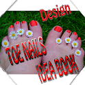Toe Nail Designs Idea Book icon