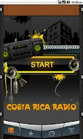 Screenshot of Costa Rica Radio