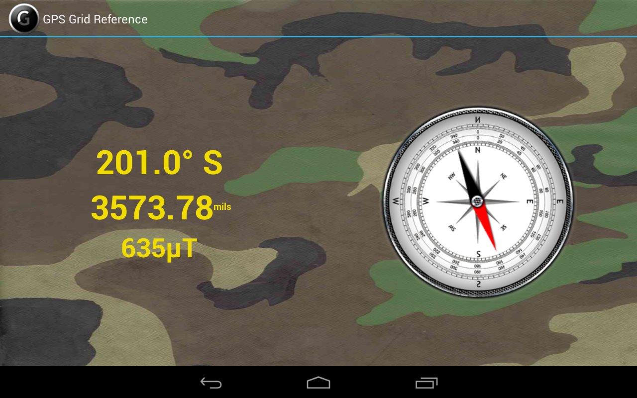 GPS Grid Reference -  Full Screenshot 9
