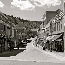 Historic Center City, Colorado Mining Town by Kathleen Koehlmoos - City,  Street & Park  Historic Districts ( historic districts, historic towns, center city, colorado, historic district, colorado rockies )