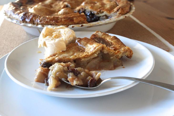 Apple Pie with Brandy-Soaked Raisins Recipe | Yummly