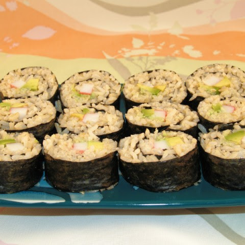 Easy California Roll Sushi
