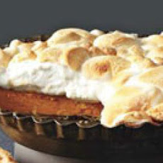 Toasted Marshmallow Sweet Potato Pie