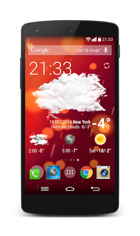 Weather Animated Widgets Screenshot 7