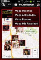 Screenshot of SOLTEROS.MOBI 1.4 - GPS Dating