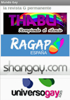 Screenshot of Revistas mundo gay en español