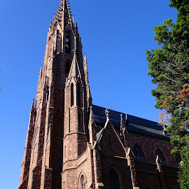 Going to church by Judy Dean - Buildings & Architecture Places of Worship ( buffalo, catholic, old, church, new york,  )
