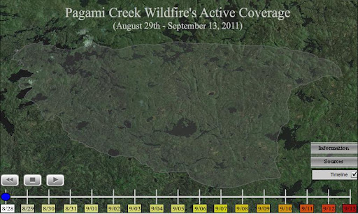 Pagami Creek Forest Fire