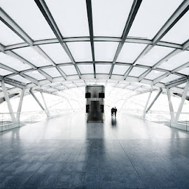 EXPO by Kim Erlandsen - Buildings & Architecture Other Interior ( arch, white, hallway, portugal, expo )