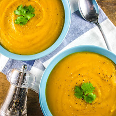 Butternut Squash, Parsnip and Apple Soup