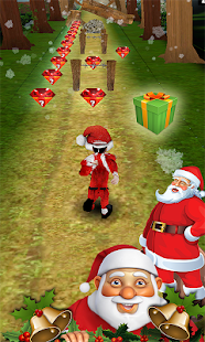 3D Santa Free Run- screenshot thumbnail