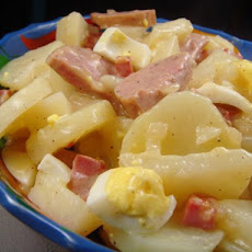 Hot Potato Salad With Kielbasa