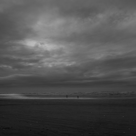 by Ryan Shields - Landscapes Weather ( black and white, b&w, landscape )