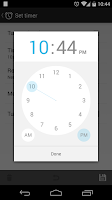 Screenshot of Music Sleep Timer