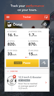 MAPtoBIKE GPS Cycling Tracker - screenshot