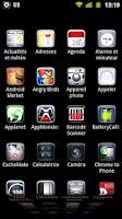 Screenshot of LauncherPro+ M22-3D Icons Pack