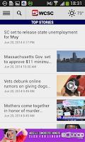 Screenshot of WCSC Live 5 News