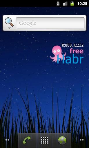 FreeHabr widget