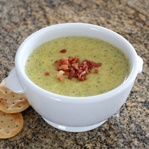 Easy Cheese Broccoli Soup Recipe, Slow Cooker