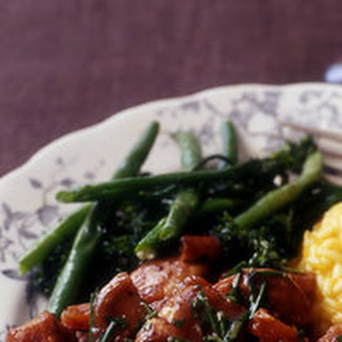 Roast Broccolini and Beans