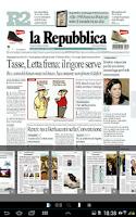 Screenshot of La Repubblica+