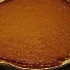 Pilgrim Pumpkin Pie