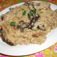 Risotto With Dried Wild Mushrooms