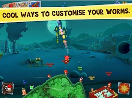 Screenshot of Worms 3