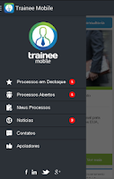 Screenshot of Trainee Mobile