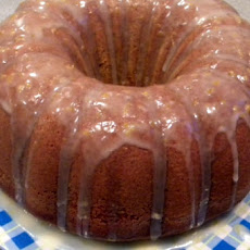 Stout Spice Cake with Lemon Glaze
