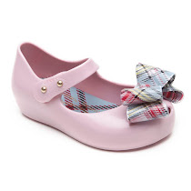 Mini Melissa Vivienne Westwood Anglomania + Mini Melissa Ultragirl Tartan JELLY SHOES