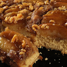 Spiced Caramel Apple Upside-Down Cake Recipe