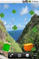 Screenshot of Lucky Me, St Patricks LWP