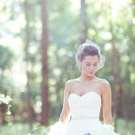 Late Afternoon by Courtney Aliah - Wedding Bride ( wedding photography, girl, bridals, wedding, bridal portraits, bride )