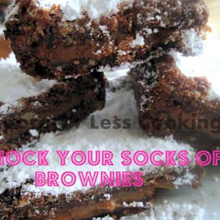 Knock Your Socks Off Brownies