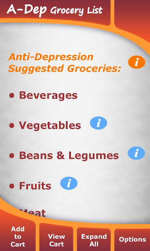 Anti-Depression Grocery List