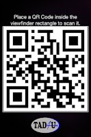 Screenshot of QR Code reader