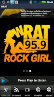 Screenshot of WRAT 95.9 The Rat Player
