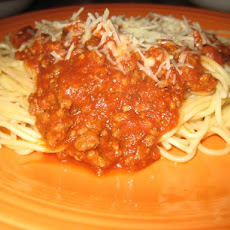 Italian Spaghetti With Meat Sauce