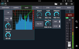 Screenshot of Mixing Station XM32 Pro
