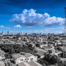 Fortaleza by Anibal Lopes - City,  Street & Park  Vistas ( sky, fortaleza, blue, brasil, ceu, city )